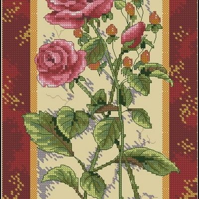 Dimensions 06906 Rose Splendor